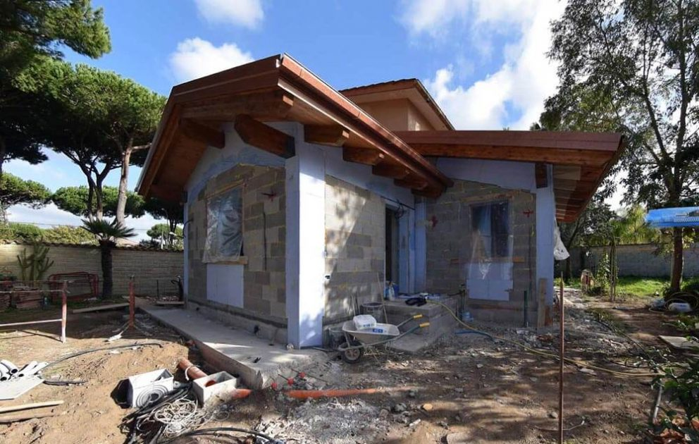 Ampliamento con tetto ventilato proarchitettura - Ampliamento casa con veranda ...